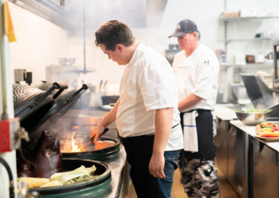 La Jolla Restaurant and Bar Chef Cooking