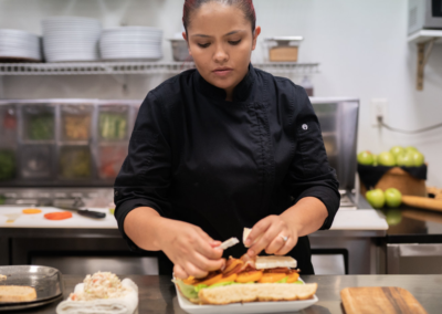 La Jolla Restaurant and Bar Female Chef
