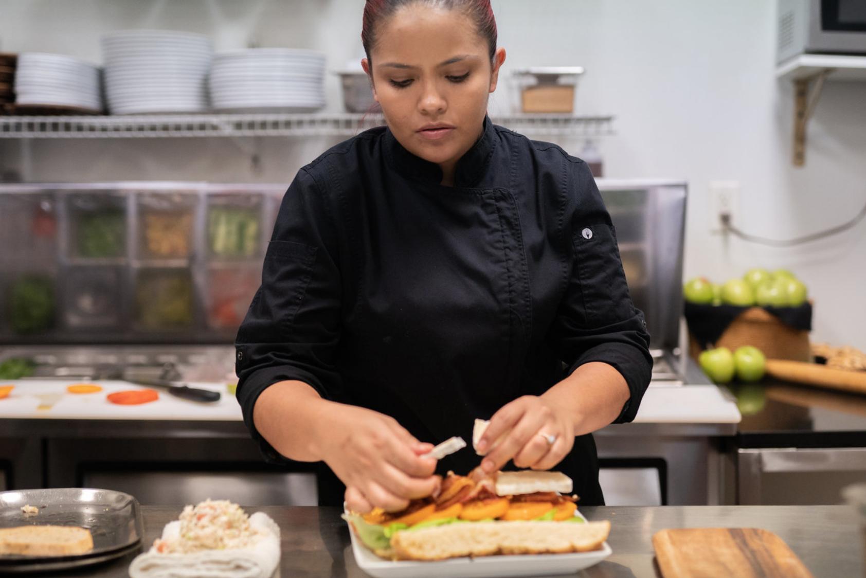 La Jolla Restaurant and Bar Female Chef