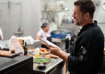 La Jolla Restaurant and Bar Male Chef